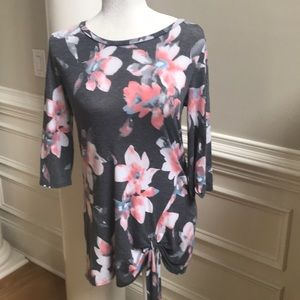Filly flair floral tunic